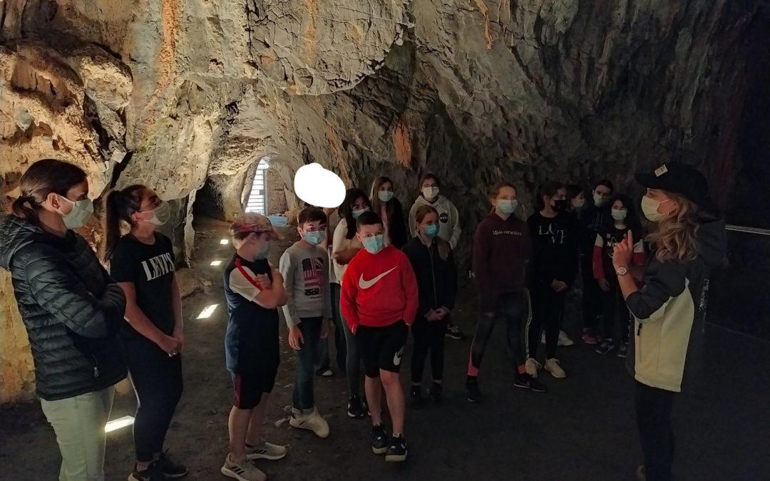 Sortie des 6E aux grottes de Saulges du 15/06/2021